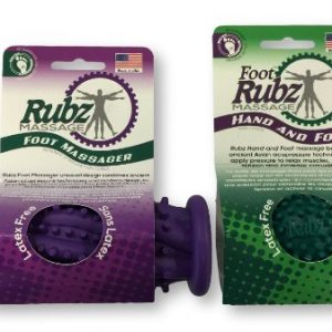 Due North Foot Massage Roller Plus Rubz Combo Pack