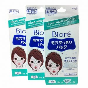 Biore Kao Nose Plus T-zone Area Pore Pack 3 Packs