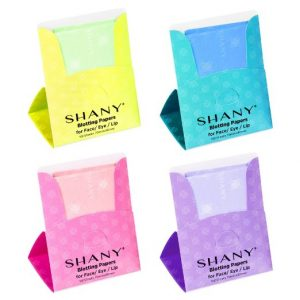 SHANY Facial Oil Blotting Papers 4 Count