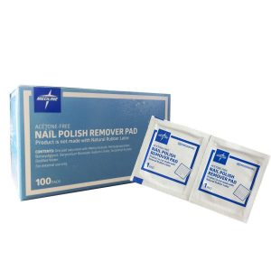 MEDLINE MDS090780 Nail Polish Remover Pads