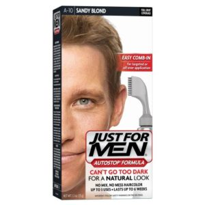 JustFOR MEN Natural Look Sandy Blond Hair Color