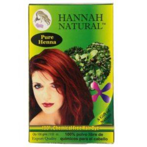 Hannah Natural Pure Henna Chemical Free Hair Dye 100 Gram