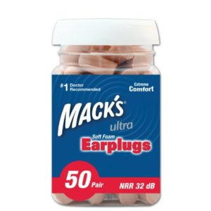 Macks Ear Care Ultra Soft Foam Earplugs 50 Pair