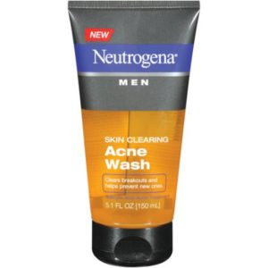 Neutrogena Men Skin Clearing Acne Wash Twin Pack