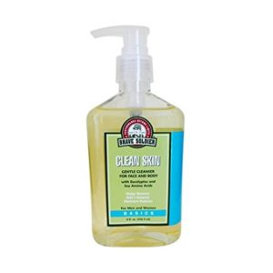 Brave Soldier Clean Skin Gentle Face Cleanser