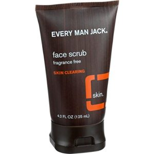 Every Man Jack Fragrance Free Skin Clearing Face Scrub