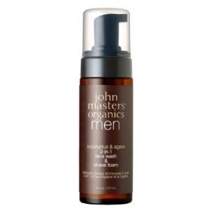 John Master Organics Face Wash Shave Foam 6 Fluid Ounce