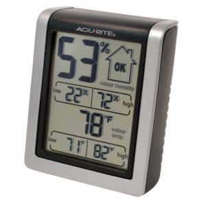 AcuRite 00613 Indoor Temperature Plus Humidity Monitor