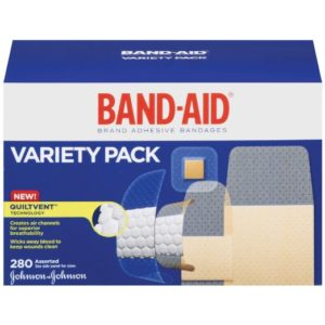 Band-Aid Adhesive Bandages Variety Pack 280 Count