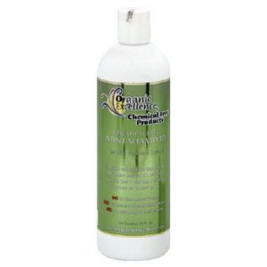 Organic Excellence Mint Shampoo 16-Ounces Twin Pack