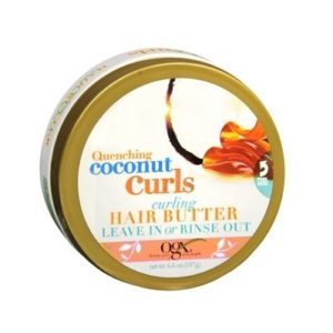 Organix Quenching Plus Coconut Curls Curling Hair Butter