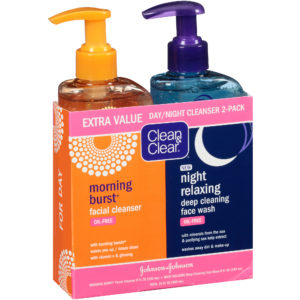 Clean Clear Morning Burst Day Night Pack 16 Ounce