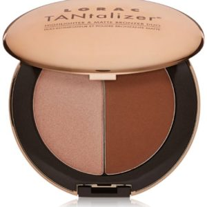 LORAC Tantalizer Highlighter Plus Matte Bronzer Duo