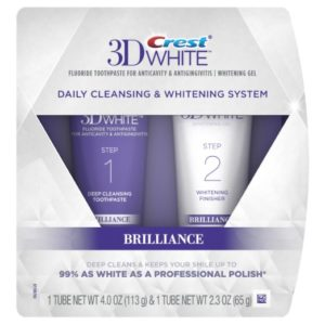 Crest 3D White Brilliance Daily Cleansing Toothpaste