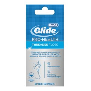 Oral-B Glide Pro-Health Threader Floss 30 Count