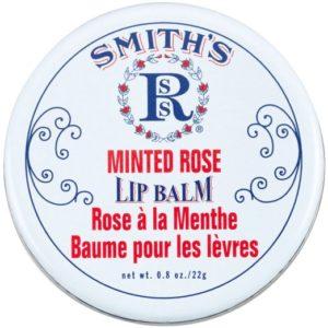 Rosebud Moisturizing Minted Rose Lip Balm