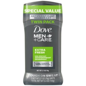 Dove Men Care Antiperspirant Deodorant Twin Pack