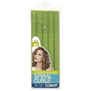 Conair 62502z Flexible Spiral Rollers 10 Pack
