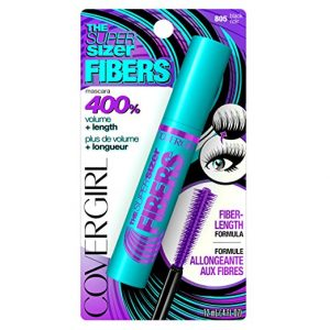 Covergirl Super Sizer Fibers Mascara Black 805 12 ml
