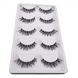 Five Pair Per Lot Crisscross Voluminous False Eyelashes