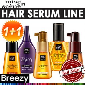 MISE EN SCENE Korean Hair Serum Line Products
