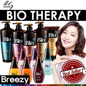 ELASTINE BIO THERAPY Damaged Hair Shampoo Conditioner