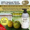 HAPPY EARTH FARM Organic Kaffir Lime Shampoo