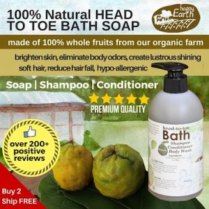 HAPPY EARTH FARM Organic Kaffir Lime Shampoo