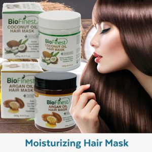 BIOFINEST Argan Oil Coconut Oil Moisturizing Hair Mask