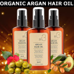 Award Winning Pure Organic Argan Hair Oil Three Bottles Deal
