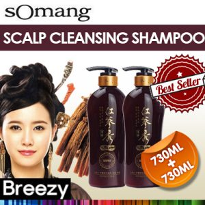 SOMANG Cosmetics Scalp Cleansing Hair Shampoo