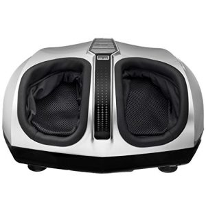 BELMINT Silver Shiatsu Therapeutic Foot Massager