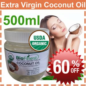 BIO FINEST Organic Extra Virgin Coconut Oil 500 ml