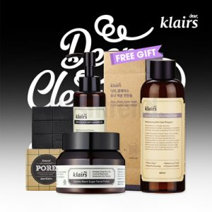KLAIRS Deep Cleansing Facial Care Products Package