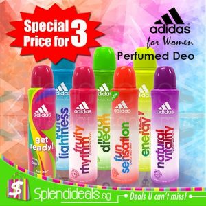 ADIDAS Perfumed Deo Ladies Deodorant 24 Hour Body Spray