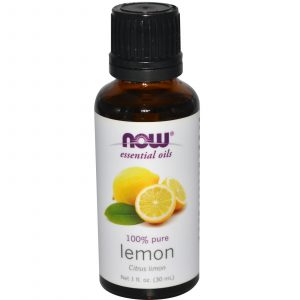 NOW Essential Oils Pure Lemon Citrus Limon 30 ml