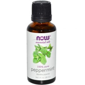 NOW One Hundred Percent Pure Peppermint Essential Oil