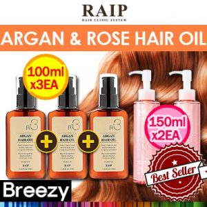 RAIP Various Argan Plus Rose Oil Haircare Products
