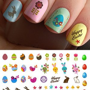 MOON SUGAR Easter Nail Decals Assortment Number 1