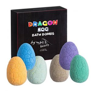 SELA BEAUTY Dragon Easter Egg Kids Bath Bombs Gift Set