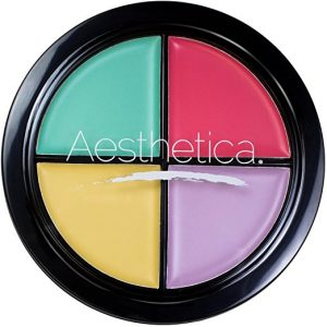 AESTHETICA Cruelty Free Color Correcting Concealer Palette