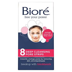 Biore 8 Count Deep Cleansing Pore Unscented Strips