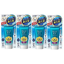 BIORE UV Aqua Rich Watery Essence 50 g 4-Pack