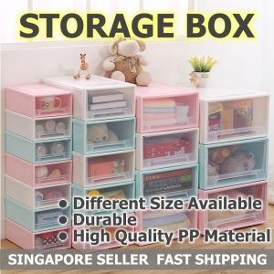 Individual Storage Container Various Sizes Plastic Boxes