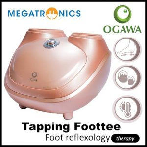 OGAWA Tapping Foottee Foot Reflexology Massager