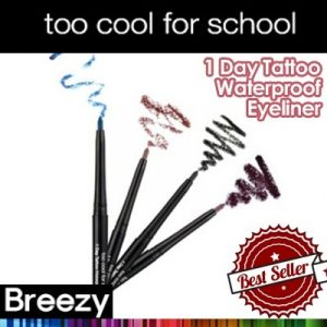 TooCOOL ForSCHOOL One Day Tattoo Waterproof Eyeliner