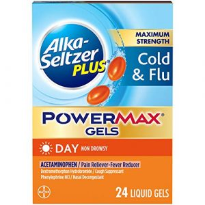 ALKASELTZER PLUS Non Drowsy Cold N Flu Powermax Gels