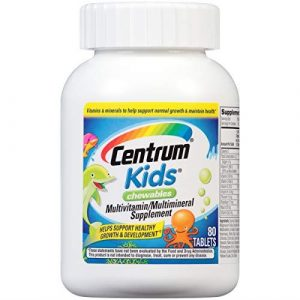 CENTRUM KIDS Chewable Multivitamin Multimineral Supplement