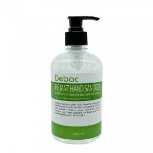 DEBAC Germicidal Moisturizing Instant Hand Sanitizer 500ml