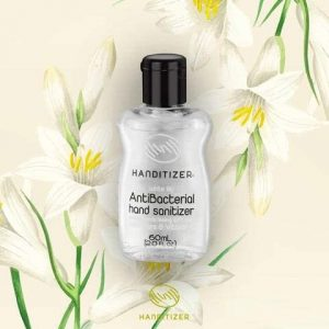 HANDITIZER Antibacterial Hand Sanitizer White Lilly